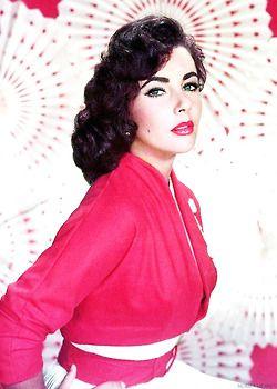 Elizabeth Taylor, c. 1950s.