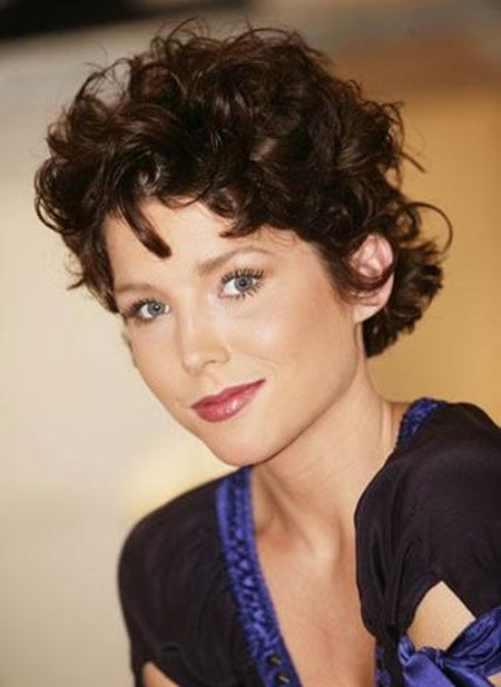 2014 thick curly hairstyles | 15. Vintage Short Volume Curly Hair