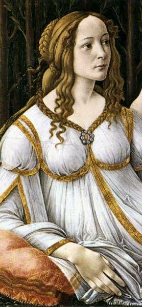 """Venus and Mars"" (detail) 1483 -- Sandro Botticelli -- Tempera on panel -- National Gallery -- London, England"