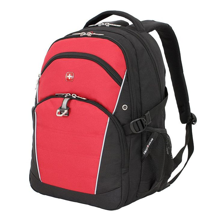 Swiss Gear File & Tablet Backpack, Red