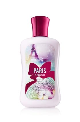 $11.00 Paris Amour Body Lotion - Leave your skin feeling soft, smooth and nourished with this dreamy blend of French tulips and sparkling pink champagne. <3  #LUVBBW