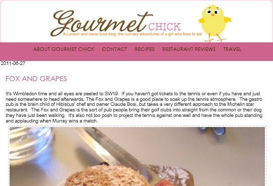Gourmet Chick: London Foodie 5