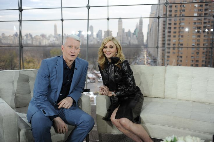 Madonna on Anderson Cooper