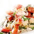 Een heerlijk recept: Spinazie stamppot met spekjes en paprika