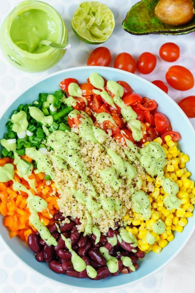 15 Minutes Southwest Quinoa Salad for Breezy Clean Eating! - Clean Food Crush