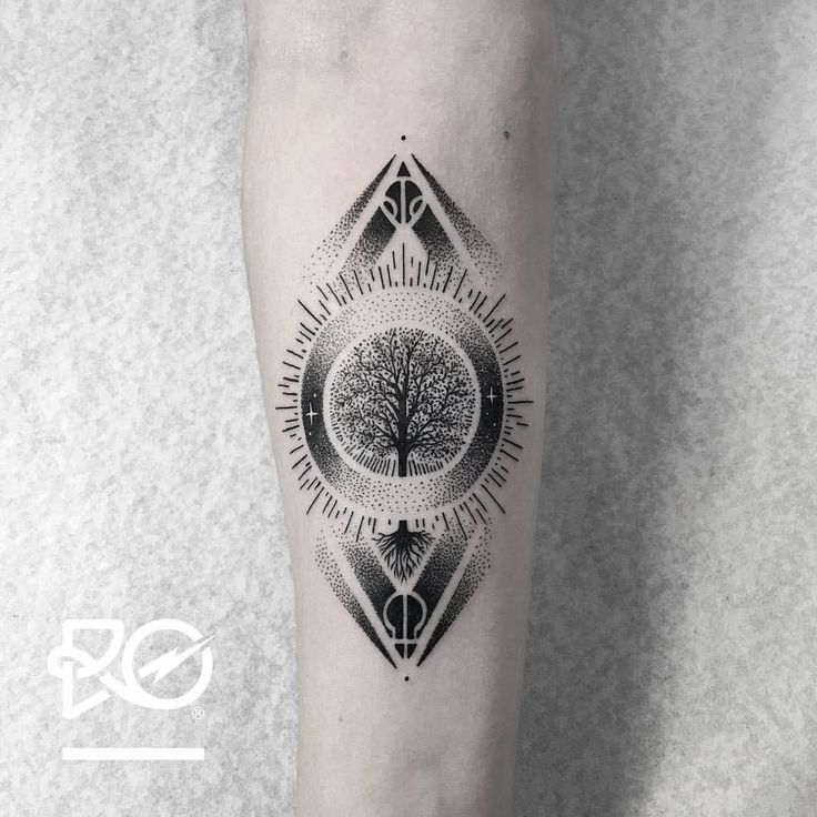 """1,096 Likes, 14 Comments - Robert Pavez (@ro_tattoo) on Instagram: """"By RO. Robert Pavez • Tiny Tree of Life (Signs by twenty One Pilots) • Now taking Bookings 2017:…"""""""