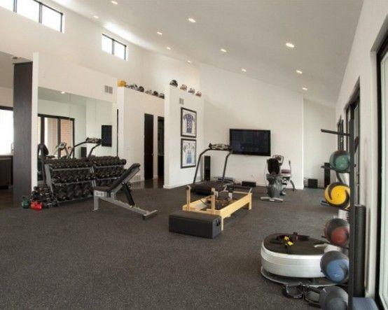 63 best Home Gym Ideas images on Pinterest Garage gym Basement