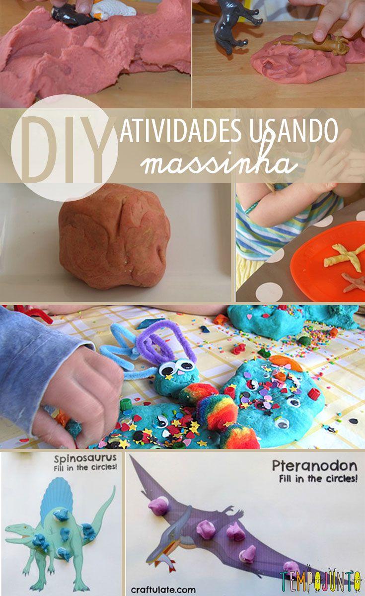 Fim de semana da massinha caseira! 5 ideias criativas para crianças lá no #tempojunto www.tempojunto.com