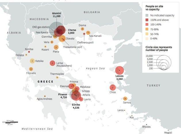 Refugees & migrants stranded in Greece