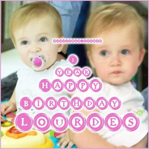 Happy Birthday Lourdes Gerrard! - celebrity_babies