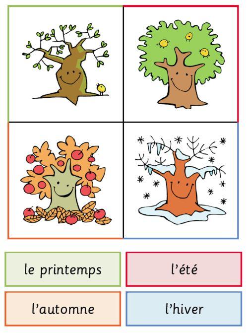Les saisons couleurs