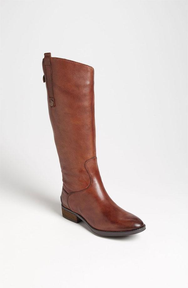 cognac riding boots @Nordstrom