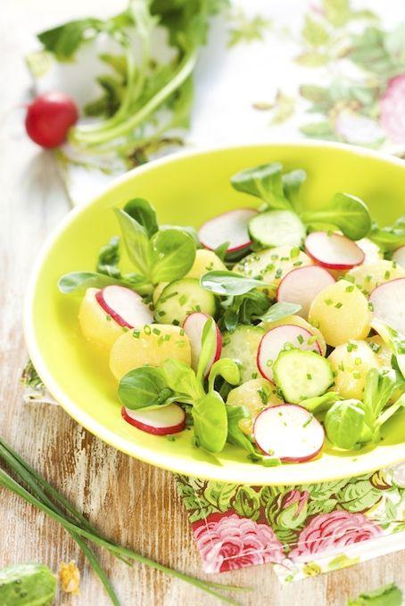 Neokoukané vegan bramborové saláty   Vegan Fighter