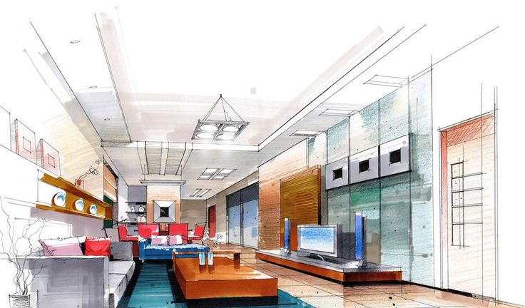 interior design sketches google search inspiration pinterest interior design sketches and architectural sketches