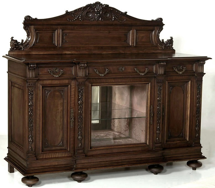 Antique French Renaissance Display Buffet | Antique Renaissance/Gothic  Buffets | Inessa Stewartu0027s Antiques