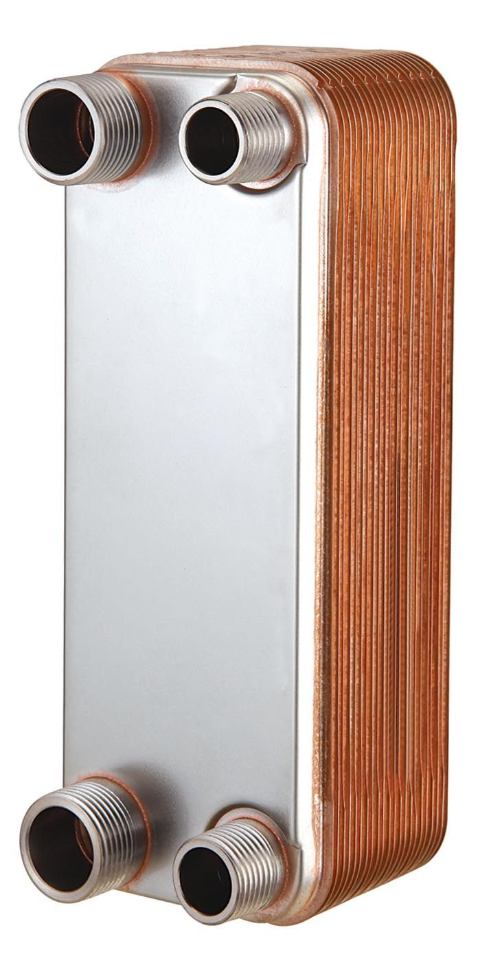 Promo Brazed Plate Heat Exchanger Stainless Plate Wort Chiller 30 Plates Brewing Chiller Plate Heat Exchanger Heat Exchanger Stainless Plate Hot Water