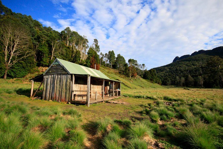life & bush & lakes & rivers - Lewis Lee's Hut - Lee's Paddock (Near Mole Creek) , Tasmania Australia - icons