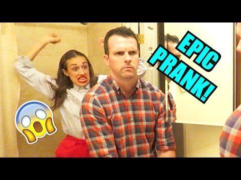 HILARIOUS PRANKS! (w/ Eh Bee Family) - YouTube