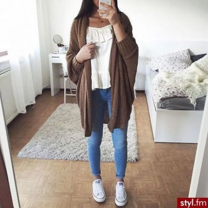 +21 Types Of School Outfits Highschool Freshman Casual Simple 47