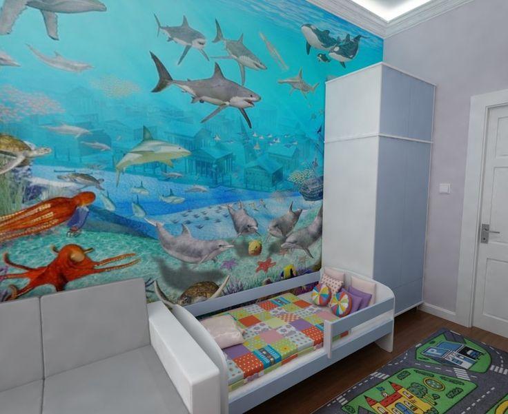 Kolorowy pokój dla dziecka.