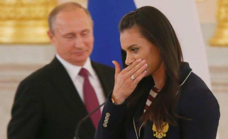 Έκλαψε η Ισινμπάγιεβα μπροστά στον Πούτιν για τον αποκλεισμό αθλητών