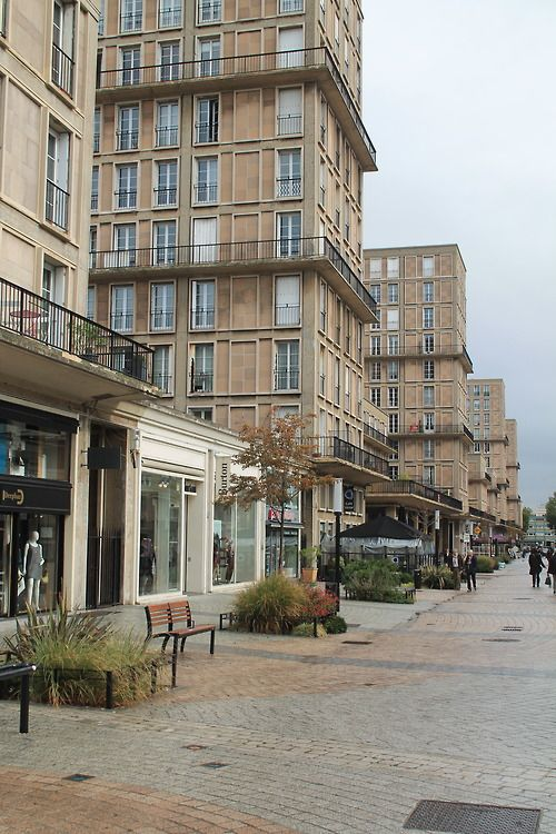 Le Havre France rebuilt by Auguste Perret