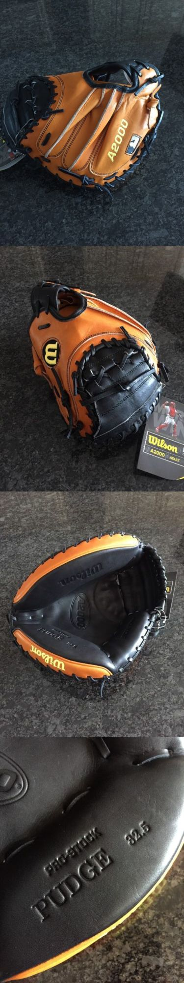Gloves and Mitts 16030: Wilson A2000 Pudge 32.5 Pro Stock Catchers Mitt, Baseball Glove, Rh, New -> BUY IT NOW ONLY: $209.99 on eBay!