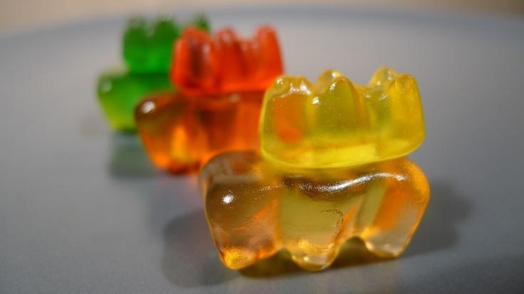Vodka infused gummy bears