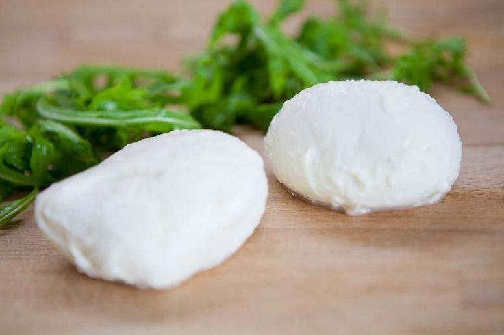 Gör egen mozzarella på en halvtimme