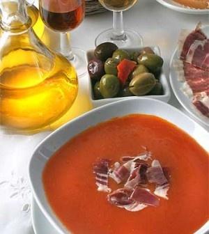 Andaluské gazpacho  (Andalusian gazpacho)