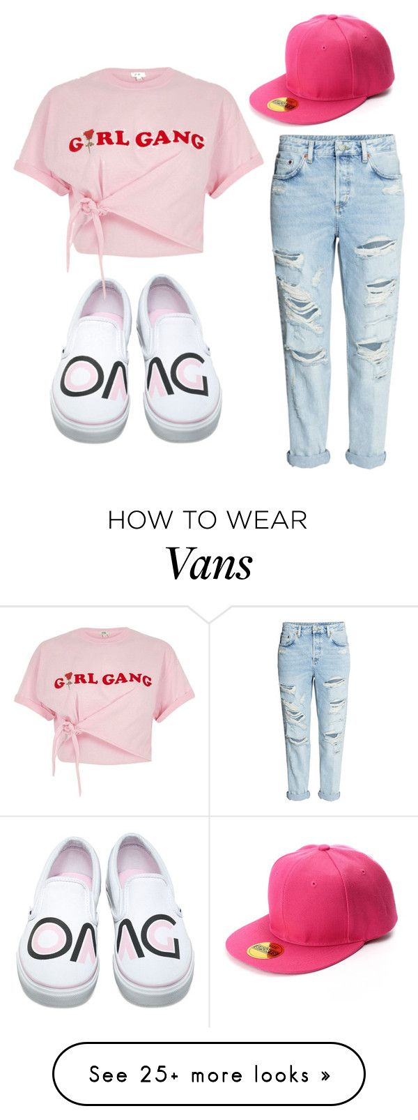 """""""Tomboy 2"""" by menchu10 on Polyvore featuring H&M, Vans and River Island"""