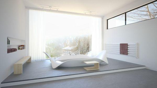corian luxus badewanne freistehende badewanne moderne badewannen