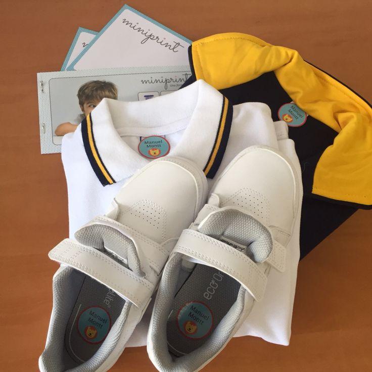 Ropa y uniformes marcados! Hasta los zapatos puedes marcar!