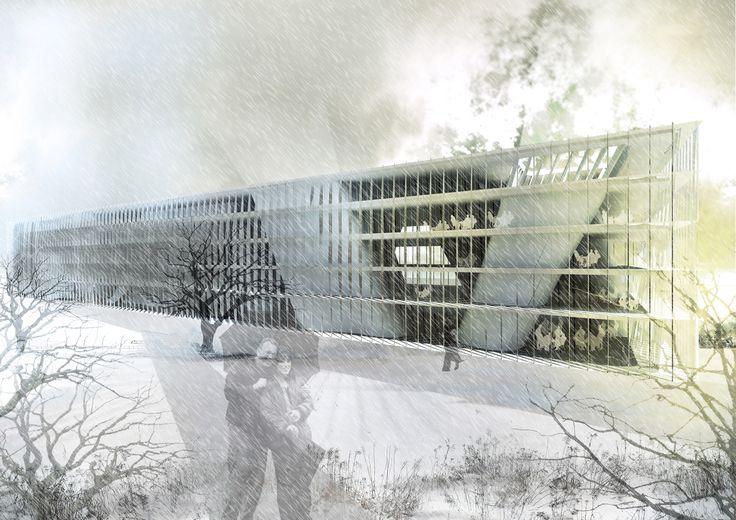 Porifera Central Library Helsinki by Irgen Salianji, Sophia Vyzoviti, Charis Siaravas, Pablo de Souza, Christos Bletsas, Karolina Szóstkiewicz