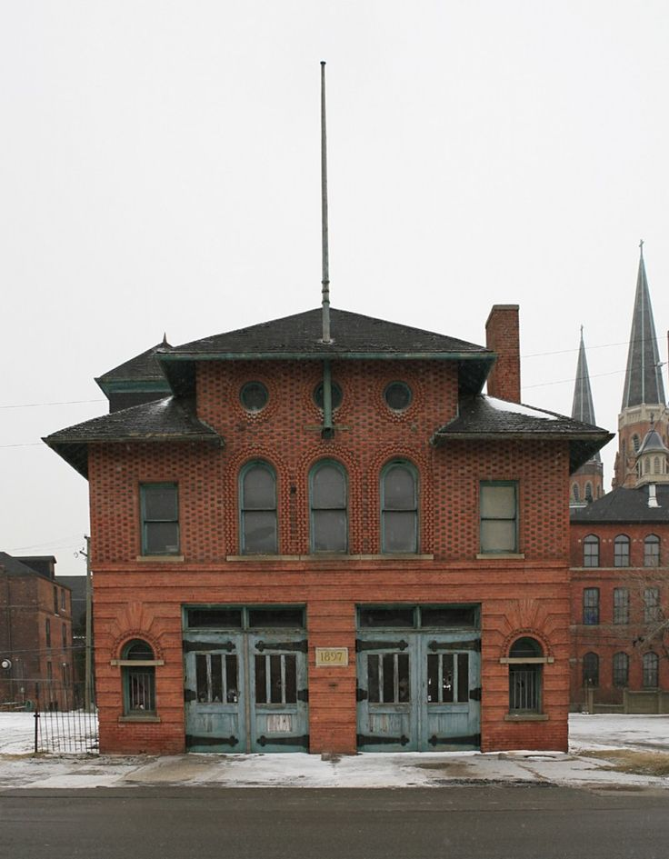 Detroit Firehouse Company No. 4 | Shared by LION