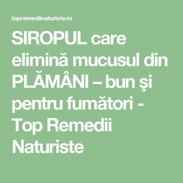 SIROPUL care elimină mucusul din PLĂMÂNI – bun şi pentru fumători - Top Remedii Naturiste