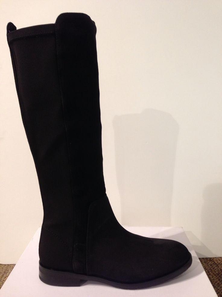 Bota alta negre de Tommy Hilfiger: 179,90€