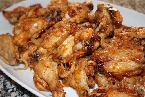 Чесночные куриные крылышки (рецепт апреля, 2007)