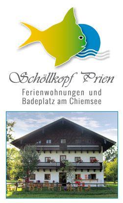 Schöllkopf - Ferienwohnungen und Badestrand in Prien am Chiemsee