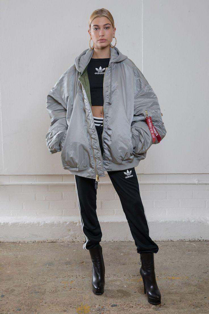 Hailey Baldwin kicks off London Fashion Week with Adidas show - HarpersBAZAARUK