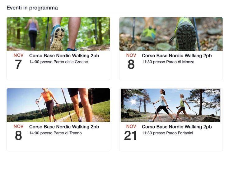 Calendario :: Nordic Walking Milano