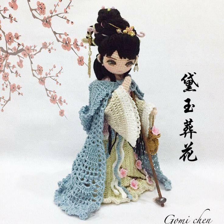 muneca oriental crochet-otakulandia.es (11) | Patrones amigurumi ...