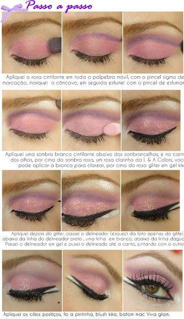 Makeup Inspirada na Christina Aguilera no filme Burlesque