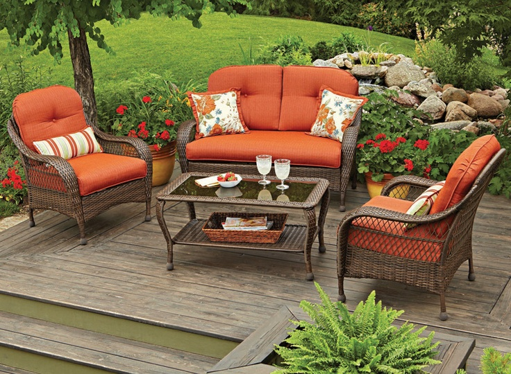 Gather round with the BHG Azalea Ridge chair set in versatile all-weather wicker