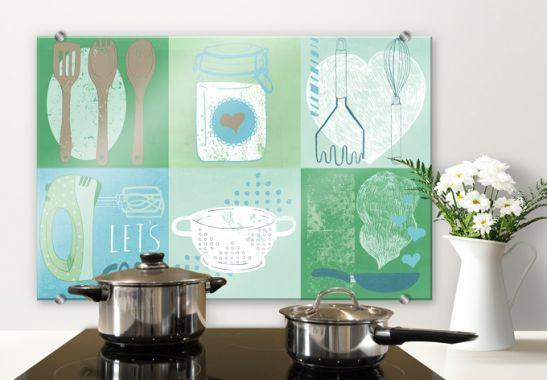 Pannelli paraschizzi - Pannello paraschizzi  Loske - In cucina