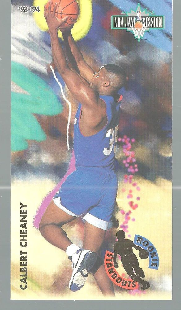 Calbert Cheaney Rookie Standout 3 Of 8 1993-94 Fleer Jam Session Basketbal Card  #Fleer #unknown