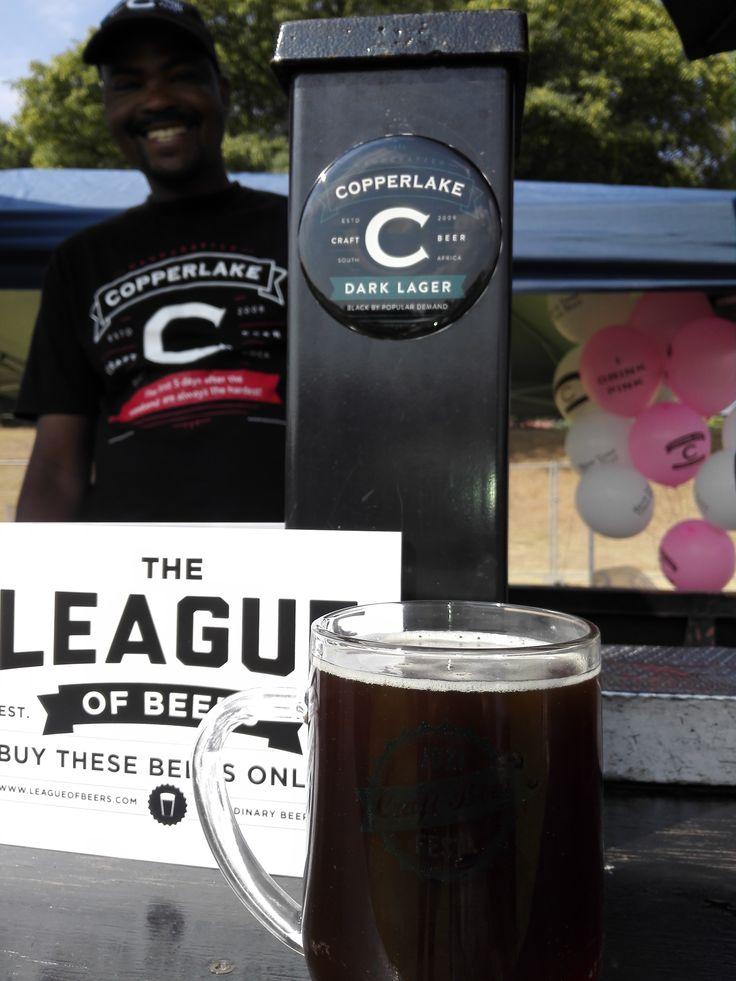 Thanks Copperlake Breweries for their best Dark Ale! #CraftBeer #JoziCraftBeerFest #Joburg #Johannesburg #CraftBeerFest #Beer #Copperlake #Brewery