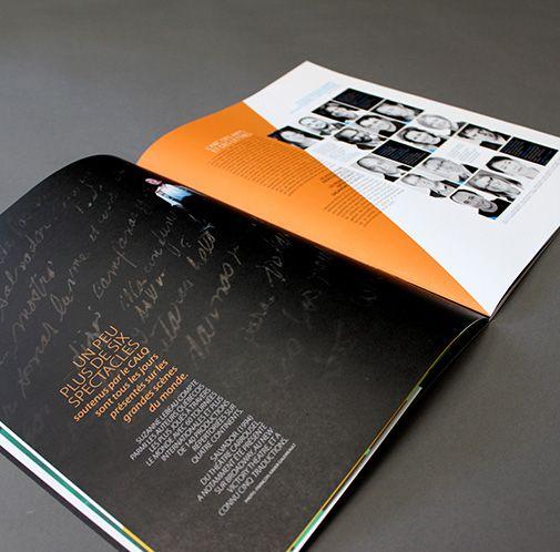 Conseil des arts et des lettres du Québec / Concept publicitaire (brochure) / Beez Créativité Média