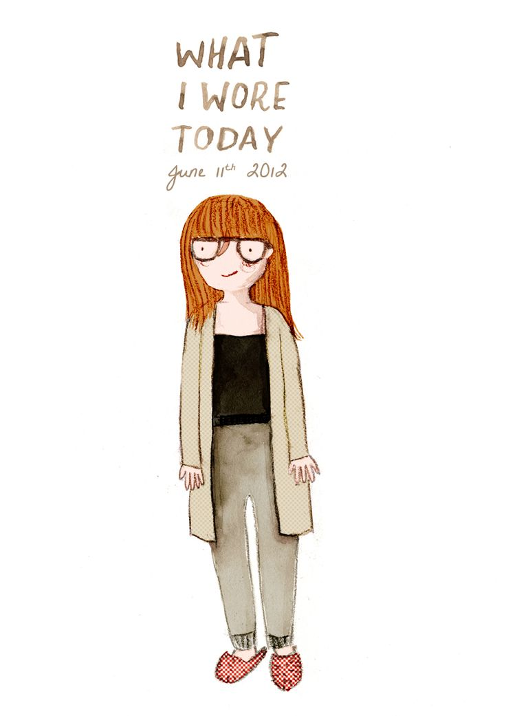 What I Wore Today, by Marloes de Vries