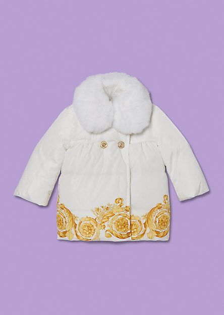 4afd063a3 White and Gold Barocco Jacket